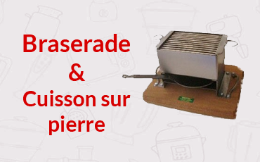 Braserade / Cuisson sur pierre